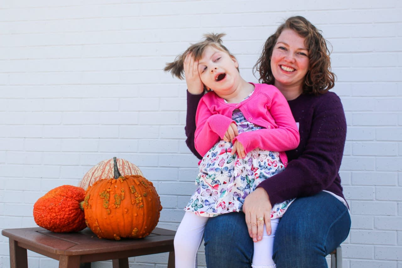 mom and daughter with special needs
